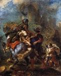 Eugène_Delacroix_-_The_Abduction_of_Rebecca_-_WGA6209