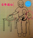 postures for managing children during feeding