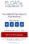 Float Wellness landing page