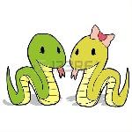 17308106-casal-cobra-dos-desenhos-animados-do-vetor