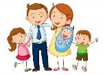 14347049-ilustracion-de-una-familia-sobre-un-fondo-blanco