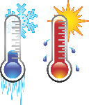 quente e frio
