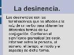 desinencia