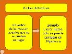 verbos defectivos