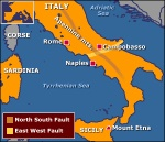 Italy fault lines