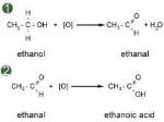 ethanol to ethanoic acid