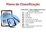 Plano de Classificação Doc's