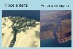 Foce a delta e foce a estuario