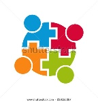 stock-vector-teamwork-community-logo-connection-group-of-people-vector-design-239155087