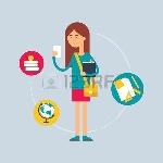 32651843-carácter-estudiante-concepto-de-la-educación-ilustración-del-vector-estilo-plano
