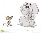 мышка слон