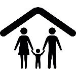 familia-sob-um-esboco-teto_318-44087