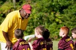 coach and kids
