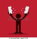 papel-figura-rasgando-ilustração_csp13714125