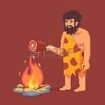 52904068-el-hombre-primitivo-edad-de-piedra-en-animales-se-esconden-los-alimentos-que-cocina-la-carne-piel-en