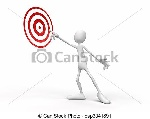pessoa-meta-indicar-cliparte_csp3341891