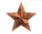 bronze-metal-star