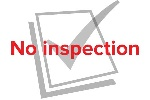 No inspection