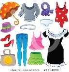 royalty-free-rf-clothes-clipart-illustration-by-visekart-stock-1106051