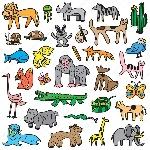 depositphotos_85355978-stock-illustration-animals-cartoons-set