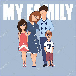 depositphotos_121809510-stock-illustration-cartoon-family-with-two-children