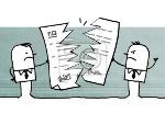 vinilo-incumplimiento-de-contrato-dibujos-animados