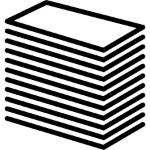 pilha de papel