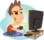 -gamer-boy-playing-video-games-vector-art-illustration-to-play-video-games-clipart-612_557