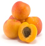 isolated-apricot