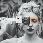 black,white,colour portrait