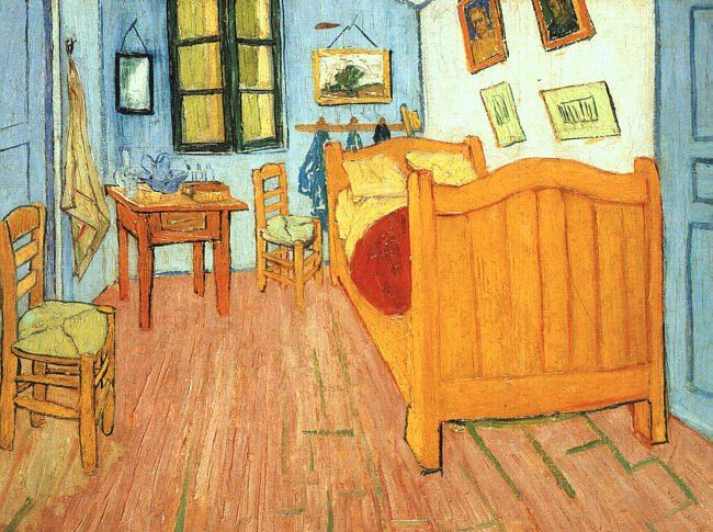 The Bedroom at Arles 1887 Van Gogh-thumb-800x597-50347