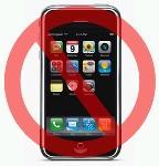 No iPhones