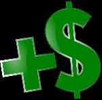 sumar-dinero-dolares-simbolo-verde-2