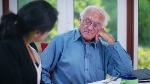 An old man talking