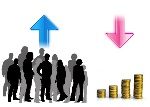 population vs economy
