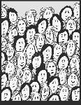 muchedumbre-de-las-mujeres-personajes-de-dibujos-animados-33547622