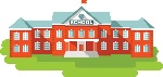 lg school building clipart