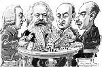 Cena-entre-amigos (Smith, Marx, Schumpeter y keynes)