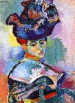 Woman-with-hat-Donna-con-cappello-Matisse-1905