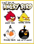birds def for anger