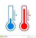icono-frío-y-caliente-del-vector-de-la-temperatura-89818117