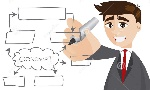 plan-empresarial-de-la-escritura-del-hombre-de-negocios-de-la-historieta-41791360
