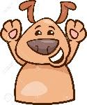 30509571-ilustración-de-dibujos-animados-de-perro-divertido-expresando-feliz-estado-de-ánimo-o-emoción