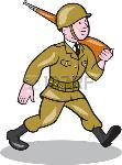 35418453-ilustración-de-una-guerra-mundial-dos-militar-soldado-americano-marchando-con-rifle-de-asalto-visto-des