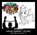 libertad y justica
