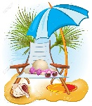 19986631-seaside-summer-holiday-background-with-palm-chair-umbrella-hat-shells-and-sunglasse