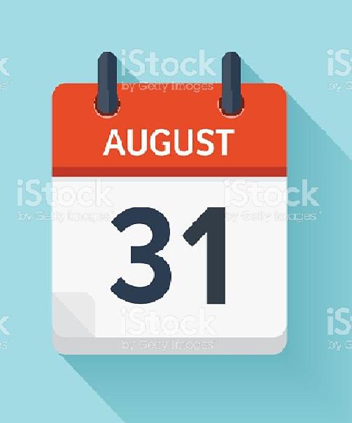 31 de agosto