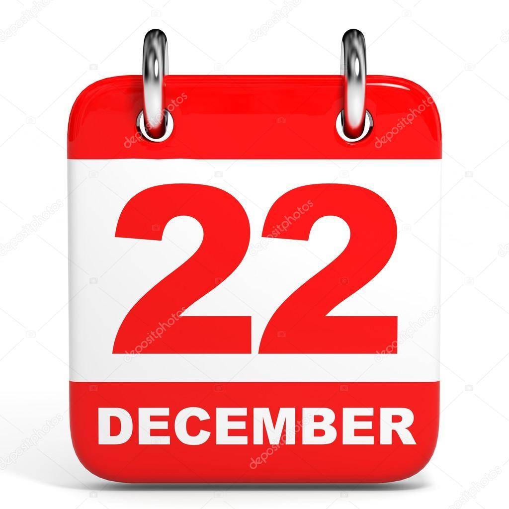 22 de dezembro