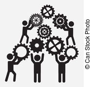 teamwork-design-over-white-background-vector-illustration-vector-clipart_csp16427904