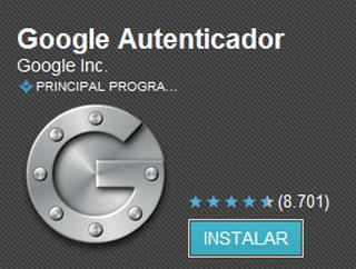Google autenticador